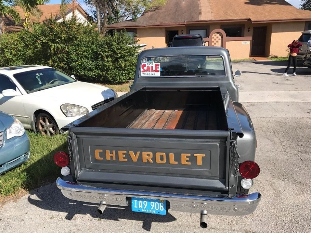 medium resolution of 1970 chevy c10 custom step side long bed