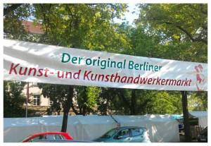 Der original Berliner Kunst- und Kunsthandwerkermarkt