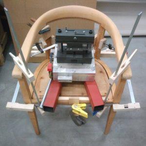 Neuverleimung Stuhl