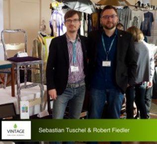 Vintage - vom Stuhl aufwärts: Sebastian Tuschel & Robert Fiedler