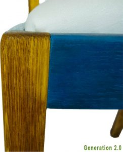 Vintage Stuhl Heloise von der Havel