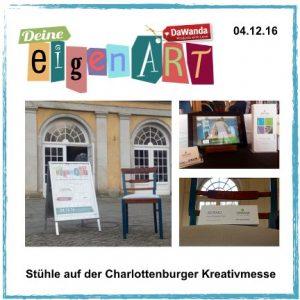 Vintage - vom Stuhl aufwärts: Auf der Kreativmesse deine eigenART in Berlin