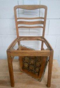 Stuhl BERTA von Tempelhof - vorher