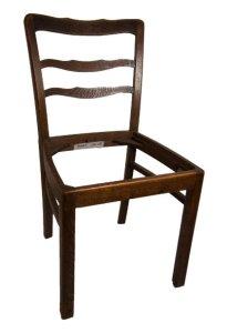Vintage - vom Stuhl aufwärts: HENRIETTA von der Havel, vorher