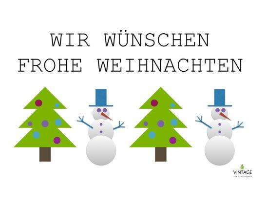 Wir wünschen frohe Weihnachten 2017