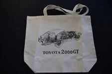 トヨタ2000GT オリジナルトートバッグ