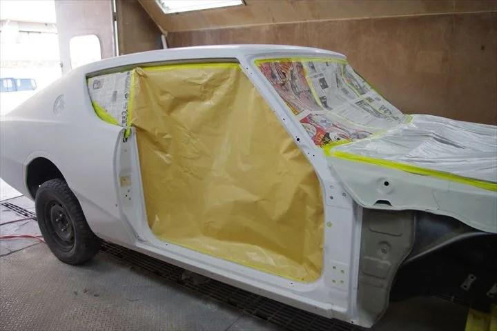 ■ボディが完成!塗装前ですが、すでに表面もすべるようになめらか!