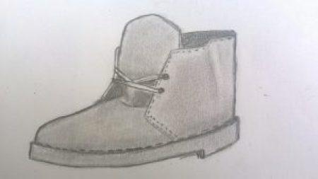 Clarks vintage modèle désert boots