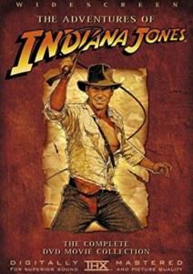 Films cultes années 80 Pochette de dvd indiana jones