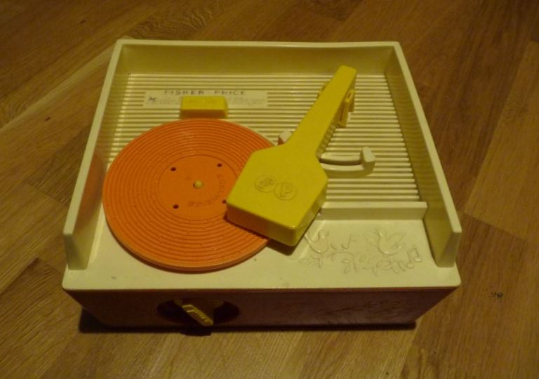 Tourne disque Fisher Price vintage