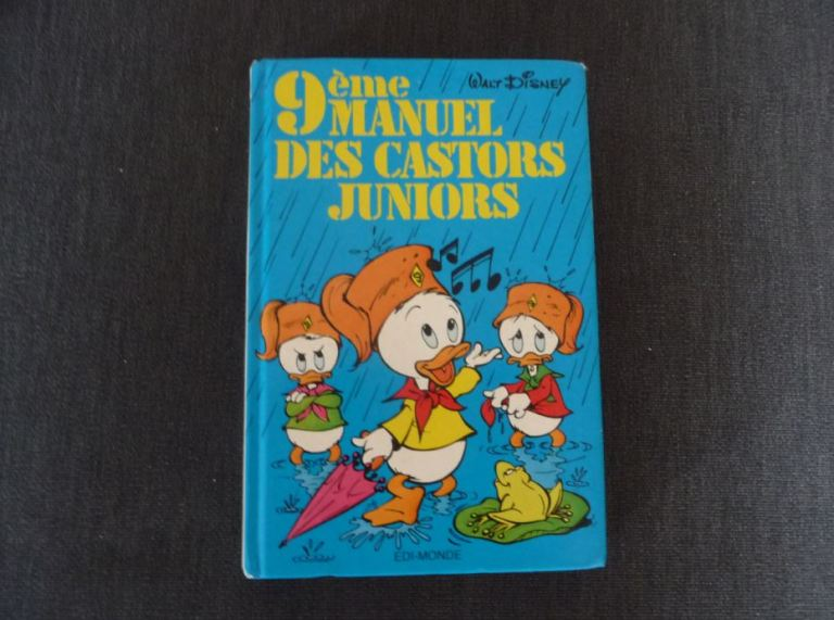 neuvième manuel des Castors Juniors Walt Disney