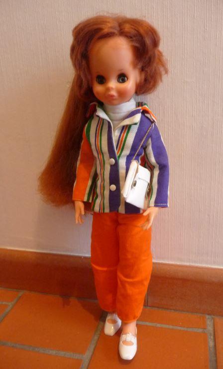 poupée Crissy de Clodrey en tenue d'origine