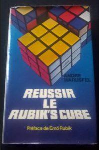 Rubik's cube livre d'André Warusfel