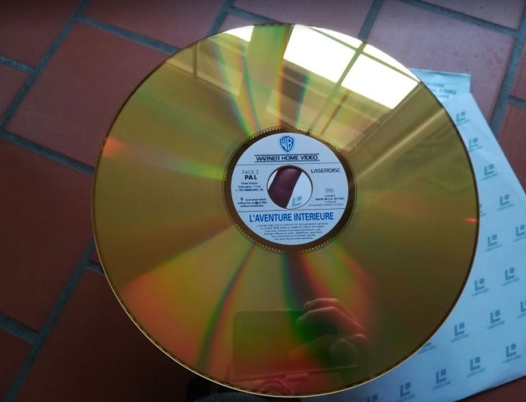 LaserDisc de L'aventure intérieure