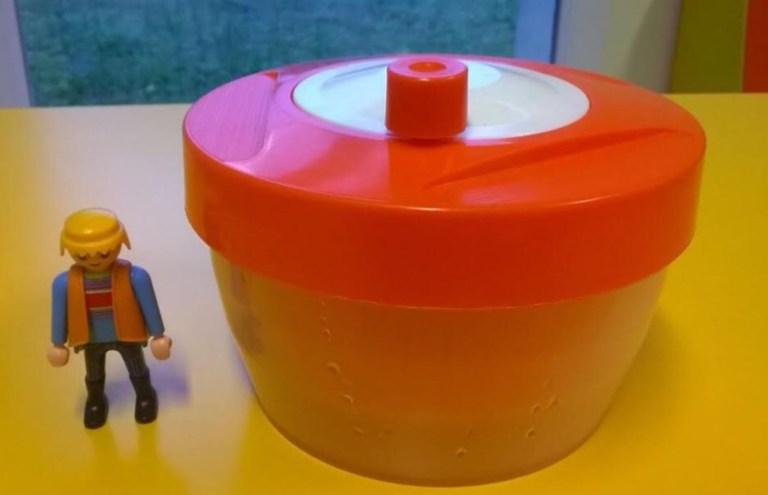 Mini essoreuse à salade Triumph vintage orange
