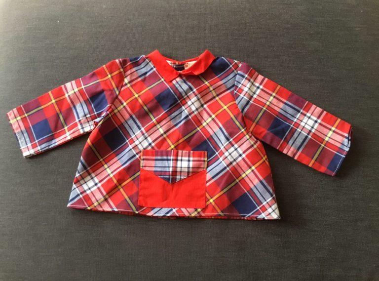 Petite blouse vintage années 70