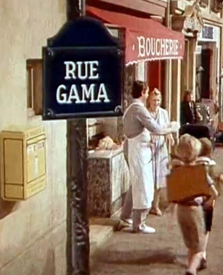 Rue Gama pub culte de 1980