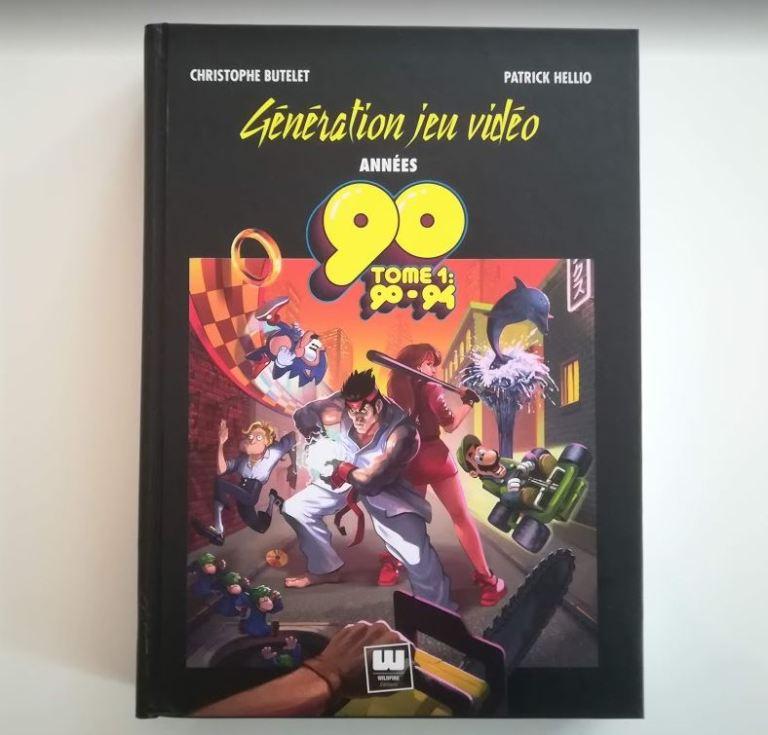 Livre Génération jeu vidéo années 90 - Tome 1 - 90-94