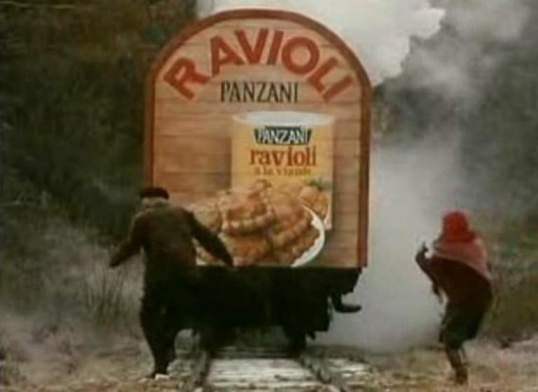 Pub culte ravioli panzani