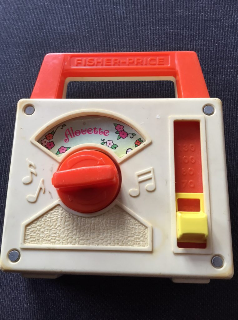 Transistor musical Fisher Price paroles alouette