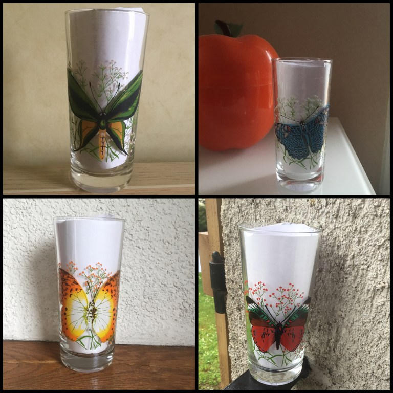 Verre à moutarde papillon VMC Reims