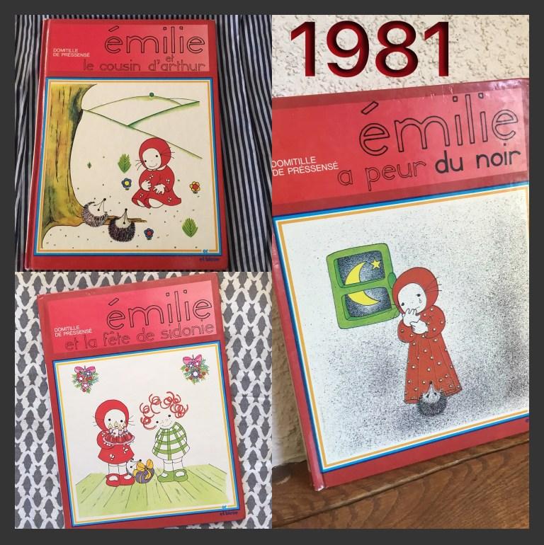 Livre vintage pour enfants Emilie de Domitille de Pressensé  1981