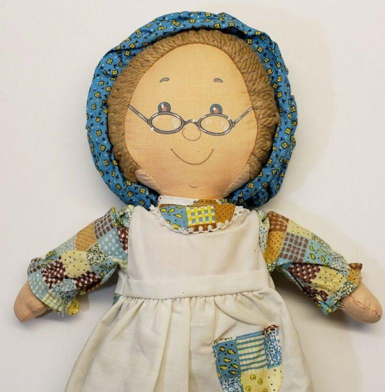 Poupée chiffon Grand-maman Knickerbocker by clodrey
