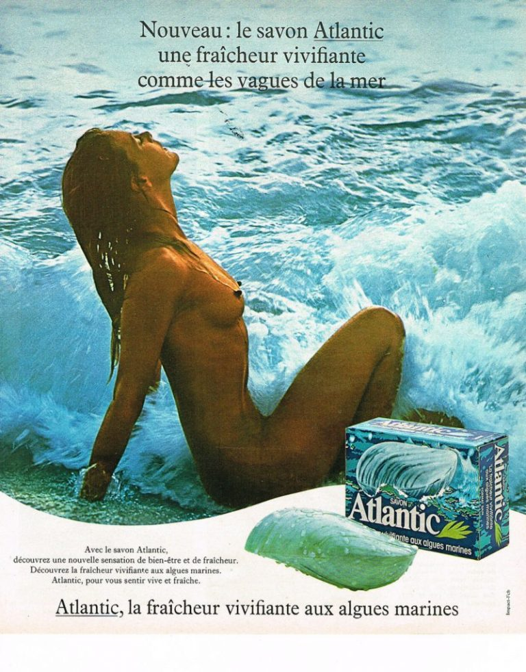 Savon Atlantic en forme de vague