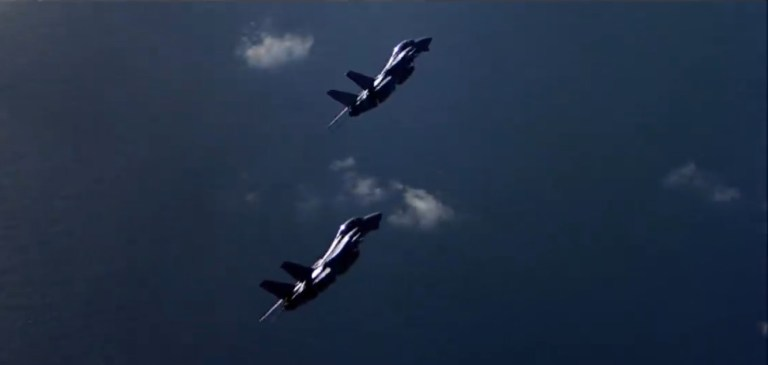 Top gun avions de chasse