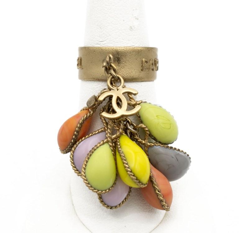 31104 - Chanel Pastel Pastille Ring, Spring 2003