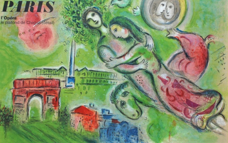"Marc Chagall - ""Romeo and Juliet"" Marc Chagall, 1964"