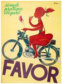 """jacques and pierre bellenger favor - """"Favor: Simle, Pratique, Elegant"""" Pierre Bellenger, Jacques Bellenger, Circa. 1950"""