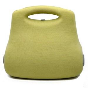 28041 - Chanel Limited Edition Futuristic Green Hard Sided Handbag, 2005