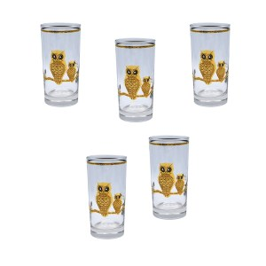Culver 22k Gold Owl Highballs
