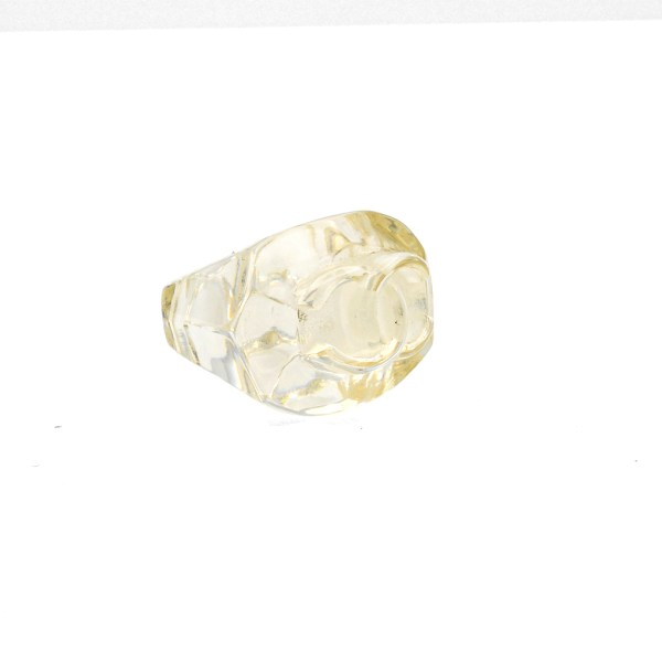 Chanel Clear Faceted Lucite Ring, Spring 2002