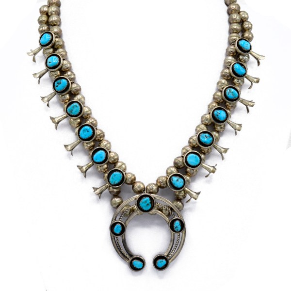 Native American Silver & Turquoise