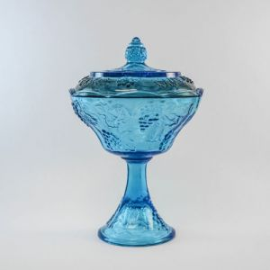 marine candy dish with lid