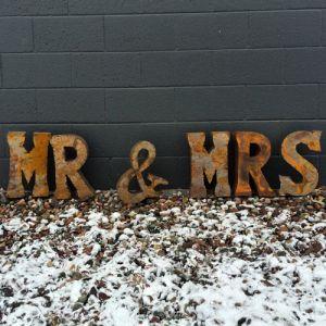 MR %26 MRS letters - medium
