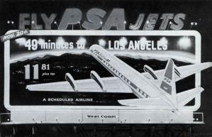 Classic PSA Jets Billboard