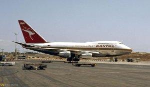Qantas Boeing 747SP