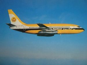 Royal Brunei Airlines Boeing 737