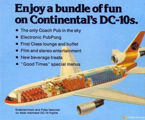 Continental Airlines DC-10 Cutaway