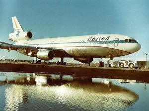 United Air Lines DC-10 Friend Ship