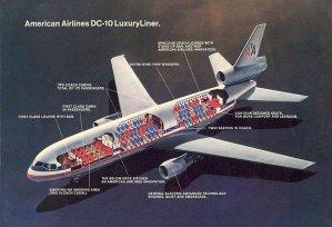American Airlines DC-10 Luxury Liner Cutaway
