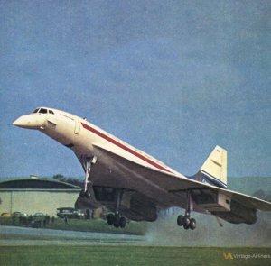 the Aerospatiale Concorde Super-Sonic Transport