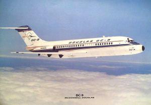 the Douglas DC-9