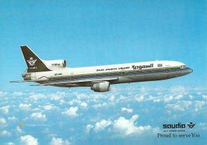 Saudia Lockheed L-1011 TrStar