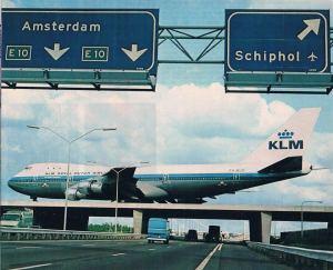 KLM B747-100 Amsterdam