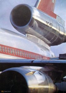 Beautiful Swissair promotional Photo 1970s