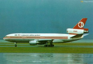 Malaysia Airlines DC-10-30